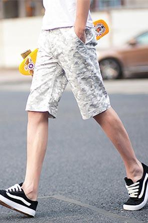 夏装新品酷帅男装短裤